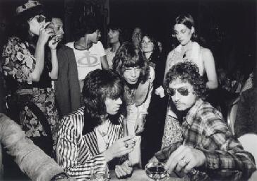 Bob Dylan, Mick Jagger, Keith