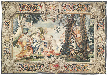 A FRENCH MYTHOLOGICAL TAPESTRY