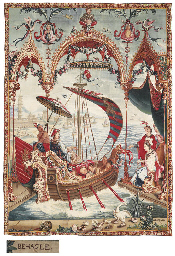 A LOUIS XIV CHINOISERIE TAPEST