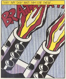 After Roy Lichtenstein (1923-1