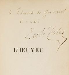 ZOLA, Émile (1840-1902). L'Oeu