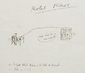 DESNOS, Robert (1900-1945). Le