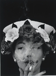 Hat + 5 Roses, Paris, 1956