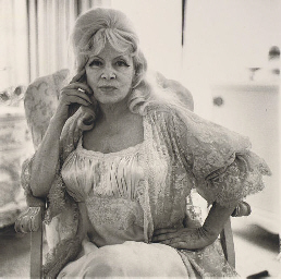 Mae West in a Chair at Home, S