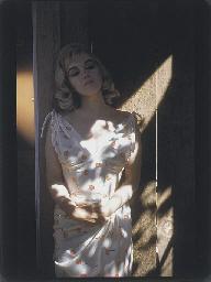 Marilyn Monroe during filming