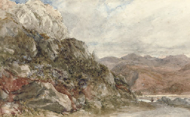 A rocky landscape near Barmout