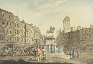 Charing Cross, London, showing