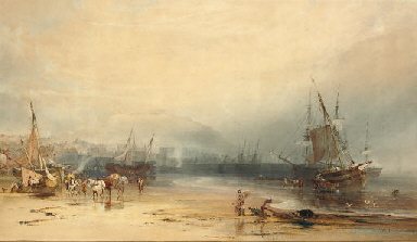 Low tide, Dover