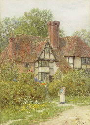A farmhouse at Smarden, Kent