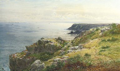 The coast near Land's End, Cor