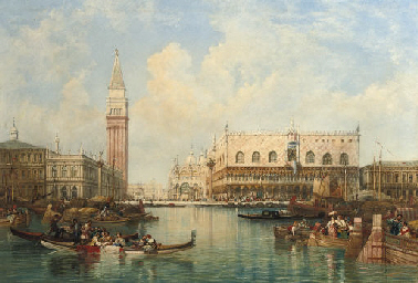 A view of St. Mark's Square, T