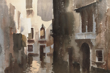 The Narrow Canal, Venice