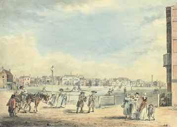 View of Brighton, showing Miss