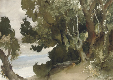 Wooded shores, Loch Earn, Pert
