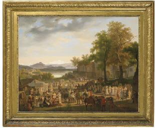 Fête villageoise, 1816