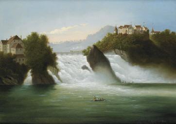Rheinfall, 1885