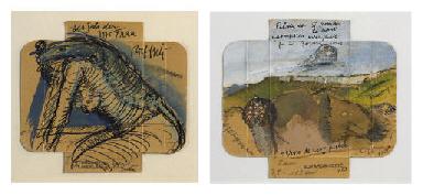 Sammelnummer von zwei Werken: