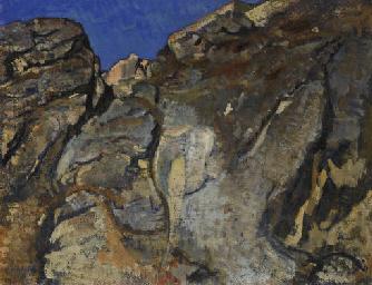 Rochers, étude III, 1923