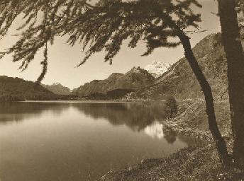 Landschaft am Silsersee, 1930