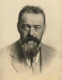 Portrait Ferdinand Hodler, 190