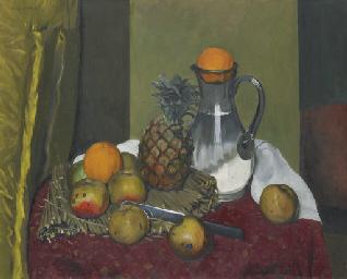 Pommes et ananas, 1923