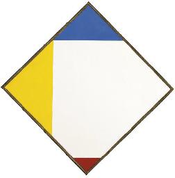 Weisses Quadrat durch Elementä