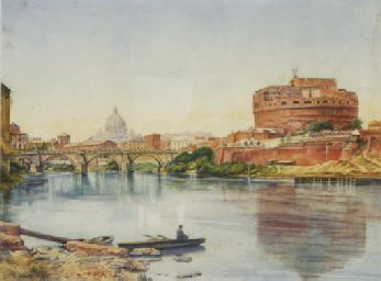 View of Castel Sant'Angelo, Ro