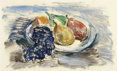 Still lifes with fruit: Two Pl