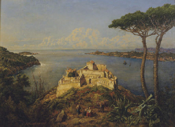 Along the Bay of Naples