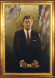 Portrait of President John F.
