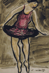 Portrait of Isadora Duncan