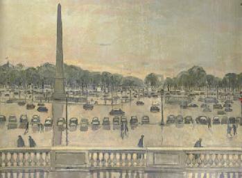 Mural: Place de la Concorde, P