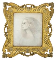 Portrait of Maria Felix (verso
