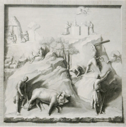 Bassirilievi della Porta Maggi