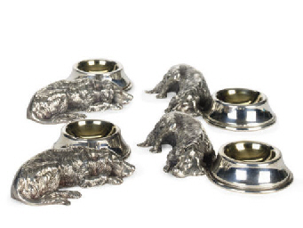 A SET OF FOUR AMERICAN SILVER-
