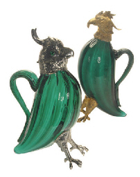 A SPANISH SILVER-MOUNTED GREEN