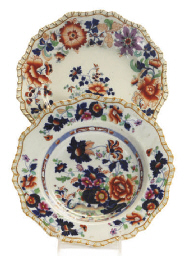 AN ENGLISH STONEWARE CHINOISER