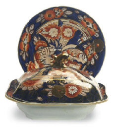 AN ENGLISH IRONSTONE IMARI PAR