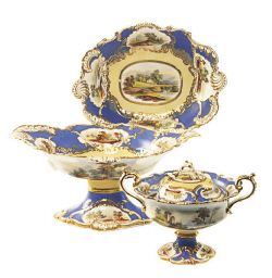 AN ENGLISH PORCELAIN ROCOCO RE