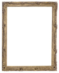A LARGE CARVED GILWOOD FRAME,