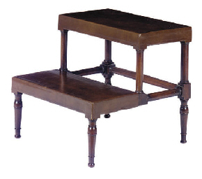 A SET OF REGENCY MAHOGANY BED-