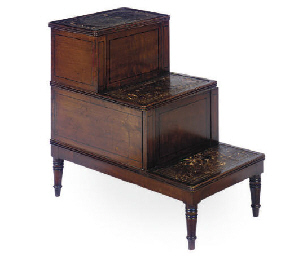 A SET OF REGENCY MAHOGANY BEDS