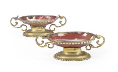 A PAIR OF ITALIAN GILT-METAL M