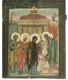 THE PRESENTATION OF CHRIST TO