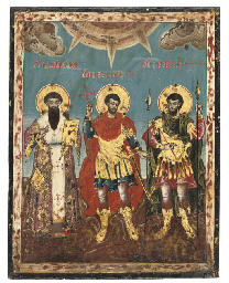 STS. BASIL, THEODORE TYRON AND