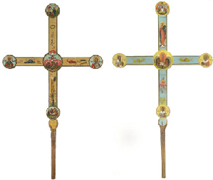 A PROCESSIONAL CROSS