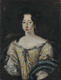 Portrait of Anne-Marie d'Orléa