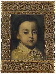 Portrait of a young boy, with