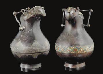 A similar pair of archaistic z