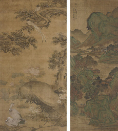 A HANGING SCROLL, 18TH CENTURY